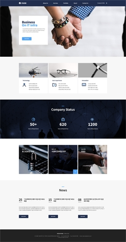 Business-Blue-002-10Page